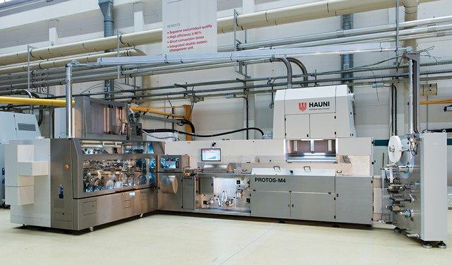 Hauni's PROTOS-M4 for the 10,000 CPM Segment