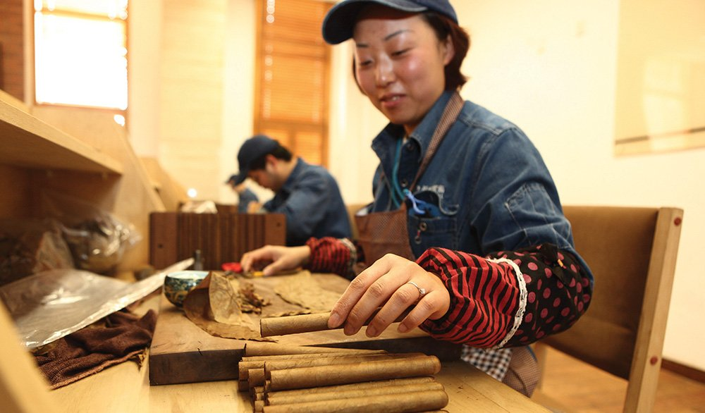 Cigars: Made in Asia - Tobacco Asia